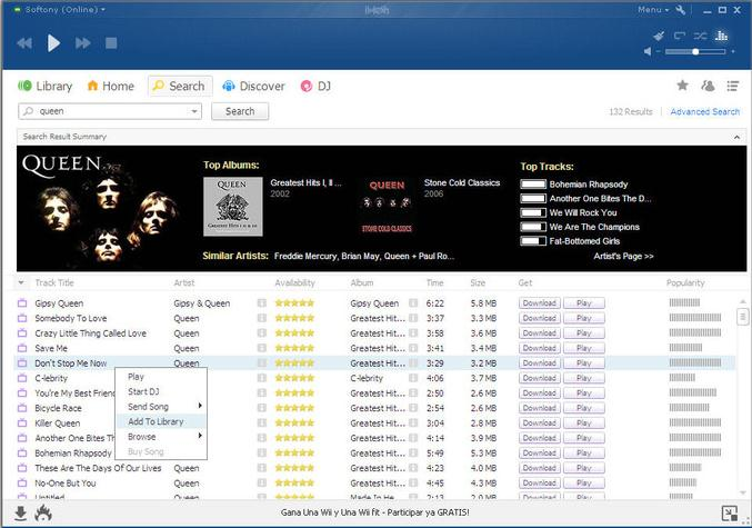 Free Music Download for PC Windows
