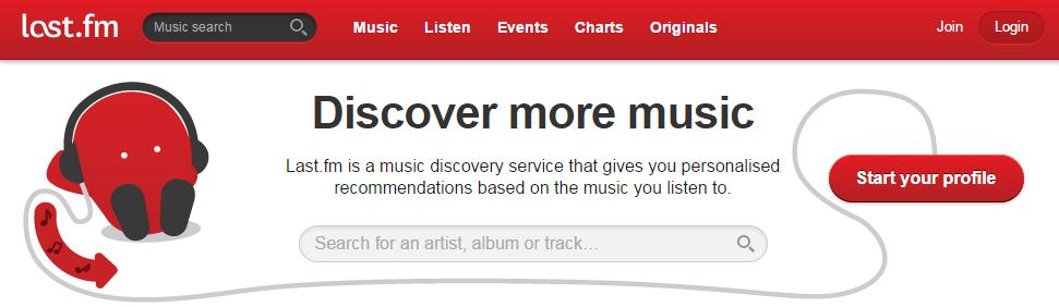 how to get free music for video editing-Last.fm