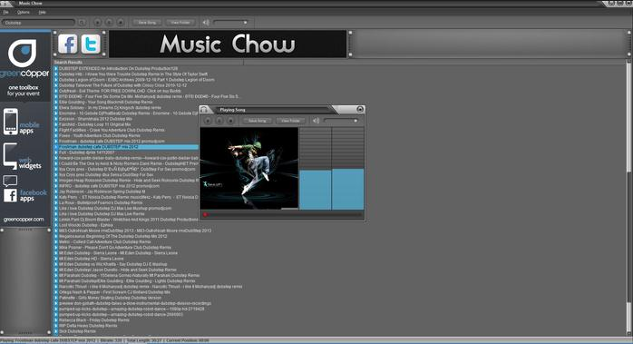 free music downloader for windows 10-Music Chow