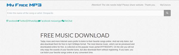 mp3 downloader online for free
