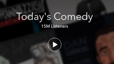 Hot Radio Programs on Pandora- Today's Comedy