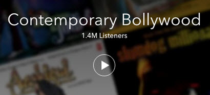 Hot Radio Programs on Pandora- Contemporary Bollywood