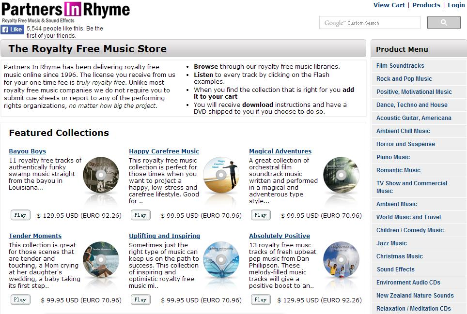 free music for editing- Partners in Rhyme