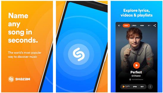 free spotify downloader app-Shazam