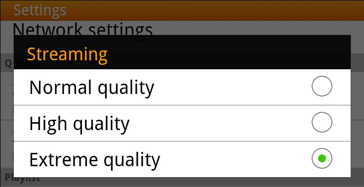 spotify quality