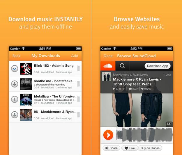 free spotify downloader app- SoundCloud