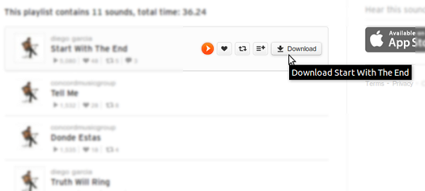 Downloading Music from SoundCloud on Mac-SoundCloud Downloader Firefox Addon