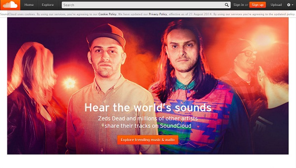 best free itunes music download sites-SoundCloud