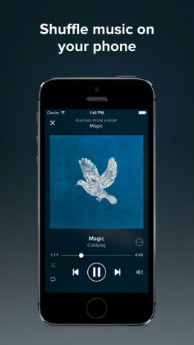 download music to android or iphone from spotify