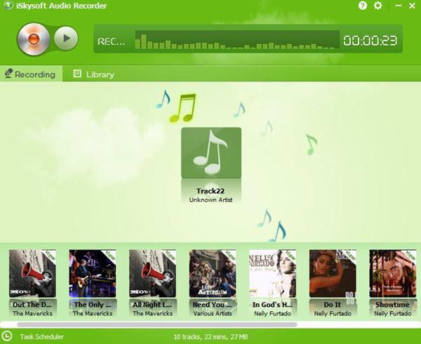 online deezer downloader - iSkysoft Audio Recorder