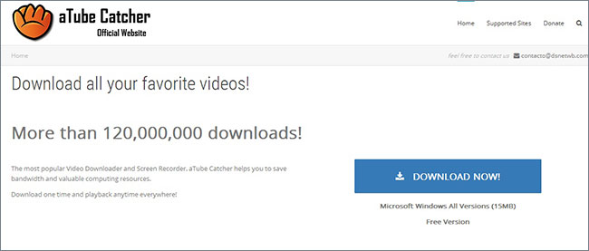 youtube to windows media player -aTube Catcher