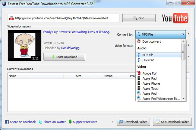 Youtube to iTunes converters