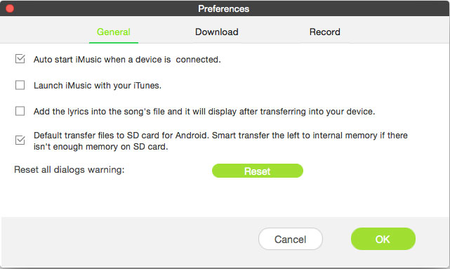 Set SD Card as the Default Path for Android Device