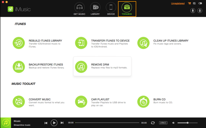 iMusic toolbox