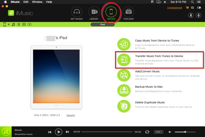 download youtube music to iPad