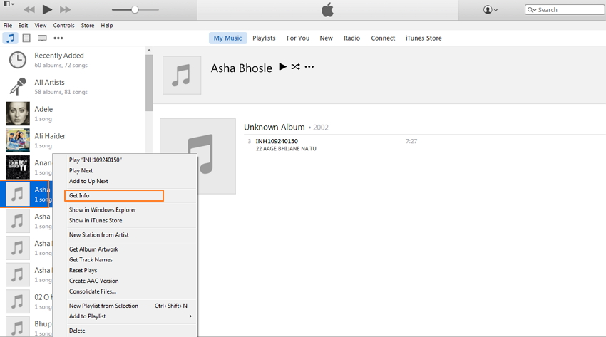 How to Add Album Artwork to iTunes without Any Third-Party Software