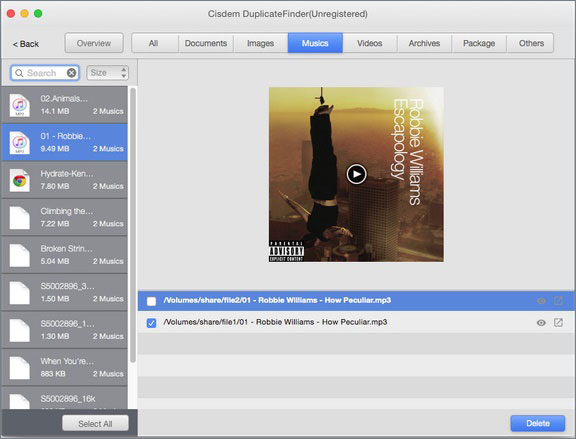best itunes duplicate remover mac- Cisdem Duplicate Finder