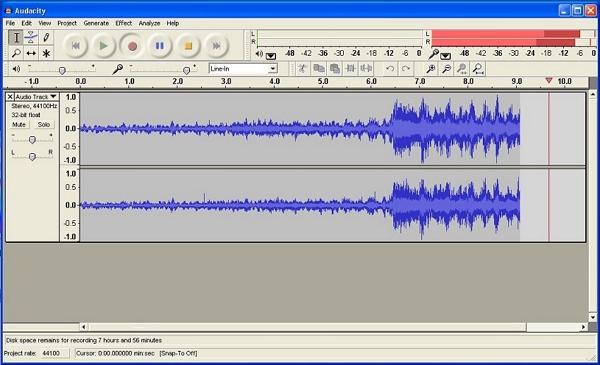 Record pandora to iTunes-Audacity
