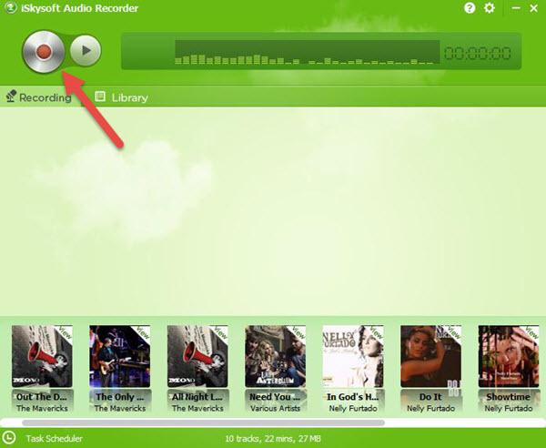 Record pandora to iTunes-Iskysoft audio recorder