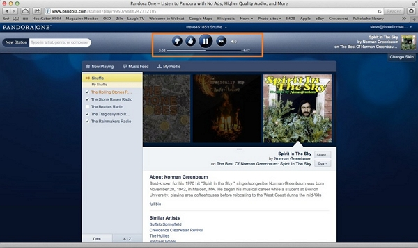 Record pandora to iTunes-play pandora music