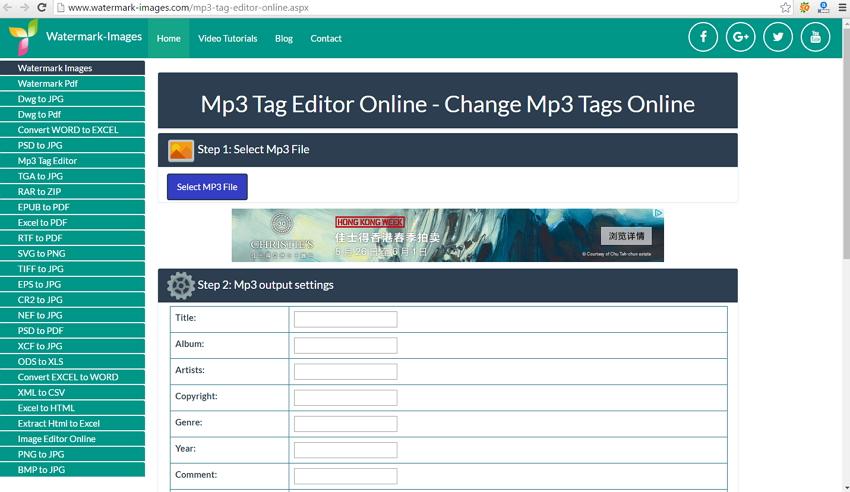 online-id3-tag-editors