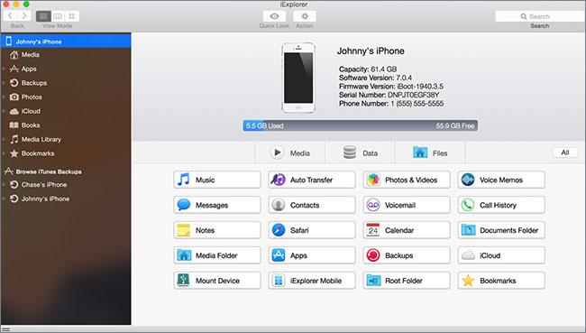 Restore iTunes library-iExplorer