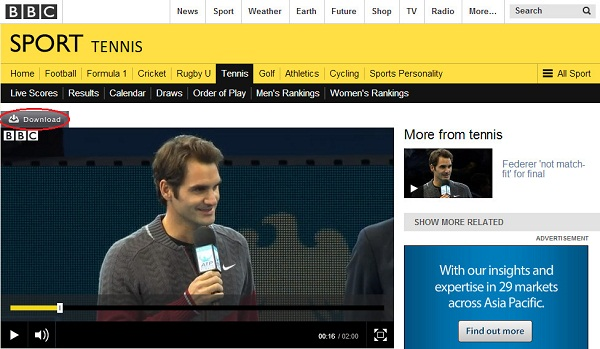 download audio from bbc- capture videos from BBC