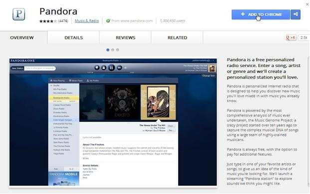 record music from pandora- Download Music from Pandora with Google Chrome