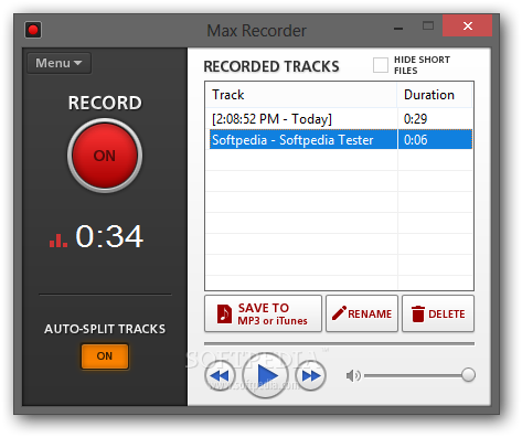 how to record from spotify-Max Recorder