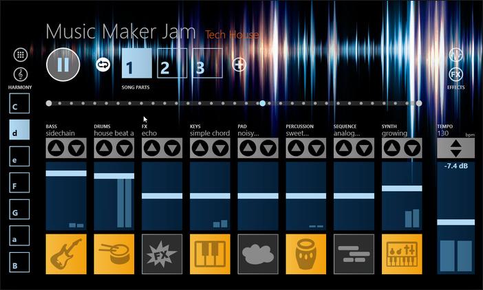 apple music maker-Music Maker Jam