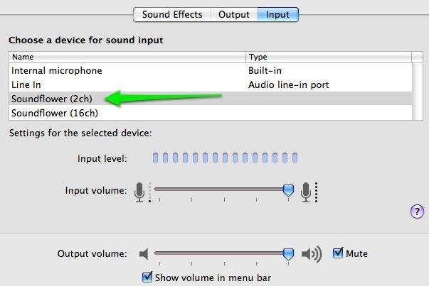 how to record from spotify-Soundflower