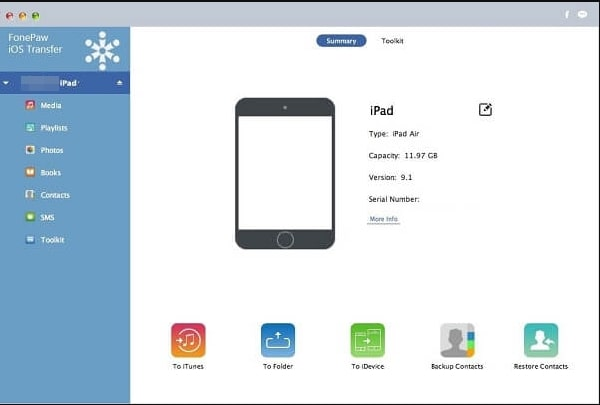 Best iPod File Manager-FonePaw