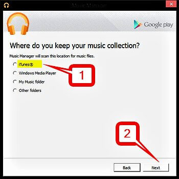 iTunes to Android Transfer: Move Music from iTunes to Android - Choose the Music Collection