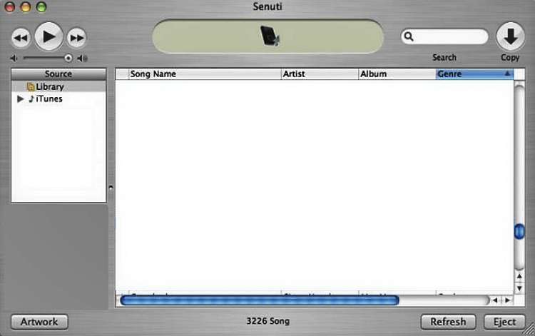 How to Transfer Music from iPod to iTunes on Mac - Senuti