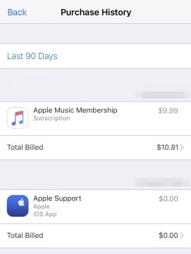How to View iTunes Purchases-see details of itunes purchase