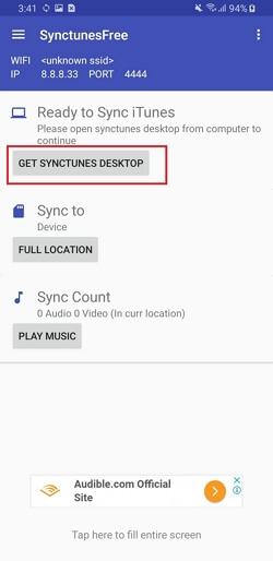 Sync Music from iTunes to Android  -Get SyncTunes on Desktop