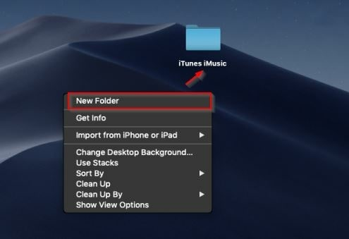 How to Sync Music to iTunes--make a folder