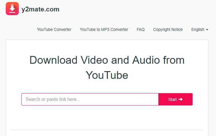 YouTube Music Converter-   Y2Mate