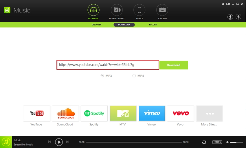 Soundclick Downloader - Copy Music URL