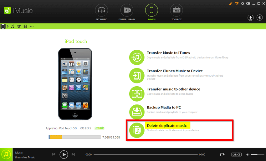 How to Transfer Music from iTunes to iPod Touch/mini/Shuffle/nano/classic  -Delete Duplicate Music