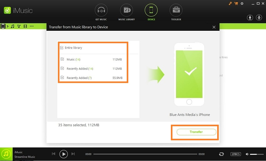 How to Send a Song from iTunes-choose itunes to device