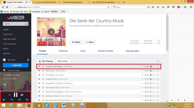 Download Deezer music