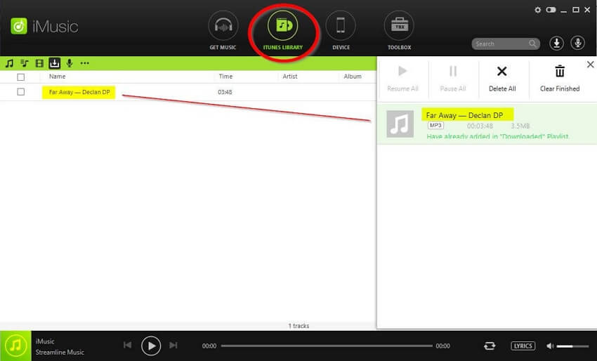 YouTube Music Converter-transfer to itunes automatically