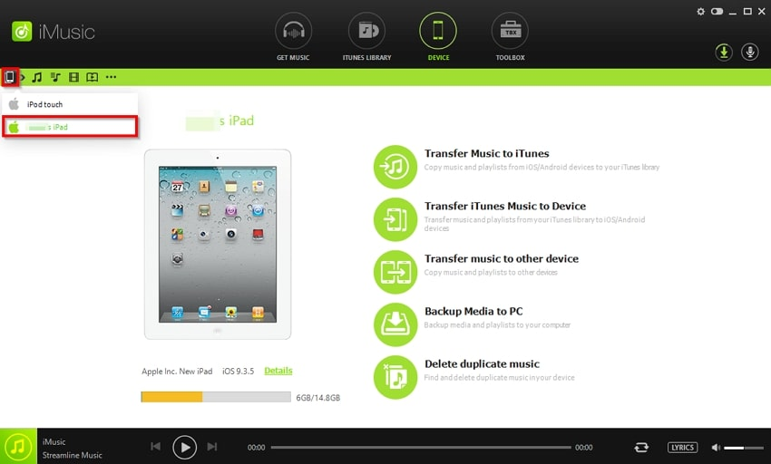 How to Transfer Music from iPad to iPod-connect ipod and ipad