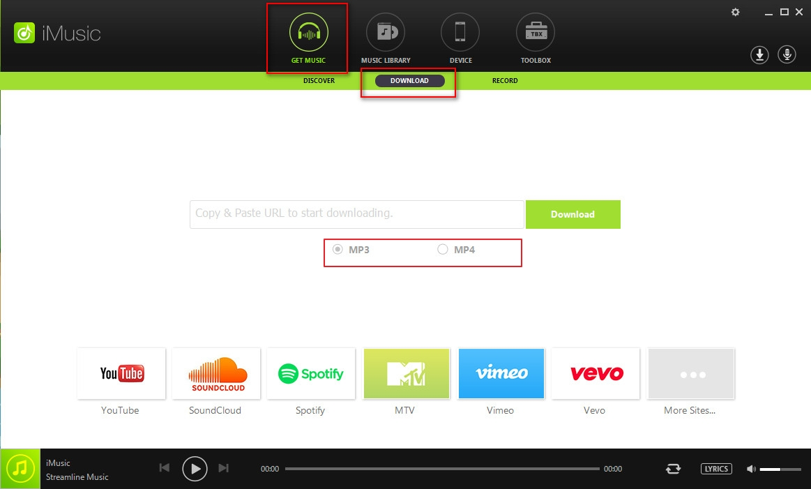 Best Spotify Downloader Online-launch iMusic