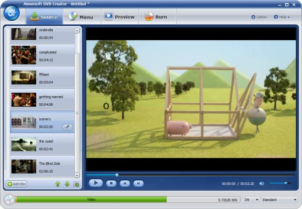 windows dvd maker mp4