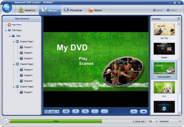 Convert Film to DVD