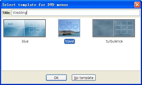 dvdstyler tutorial -choose menu