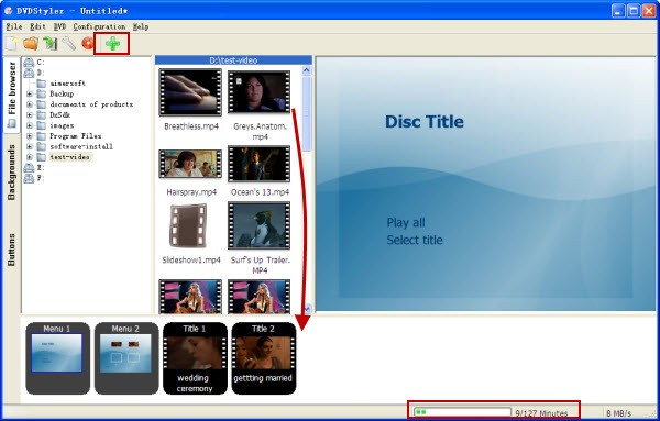 dvdstyler tutorial -add video