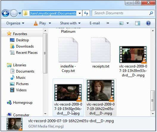 copy a dvd with vlc